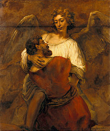 220px-Rembrandt_-_Jacob_Wrestling_with_the_Angel_-_Google_Art_Project.jpg